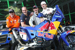 KTM: Marc Coma, Martin Freinademetz and Cyril Despres