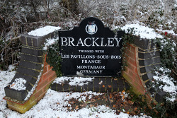 Brackley, the home of the Mercedes GP team