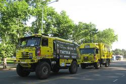 Loprais Tatra Team trucks