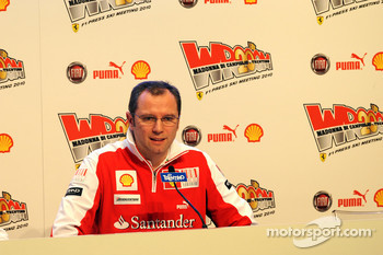 Stefano Domenicali press conference