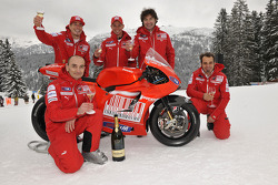 Ducati Desmosedici GP10 launch