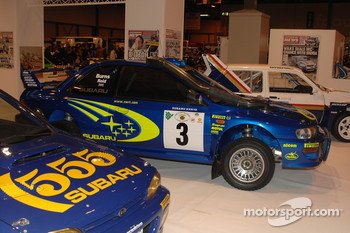 Richard Burn's Impreza WRC Car