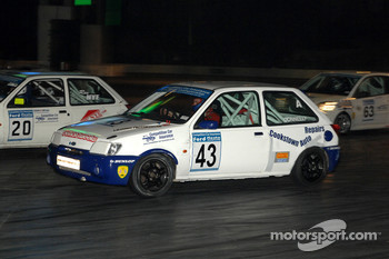 Ford Fiesta Racing in Live Action Arena