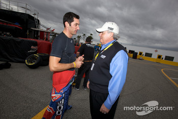 Max Papis, Germain Racing Toyota with Rick Hendrick