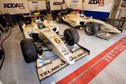 Sergio Perez and Giedo Van der Garde