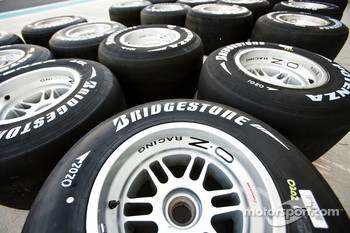 Bridgestone Tyre's and Logo's
