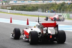 Lewis Hamilton, McLaren Mercedes passed by Felipe Massa, Scuderia Ferrari