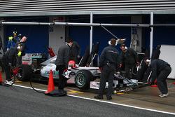 Michael Schumacher, Mercedes GP Petronas pit stop practice