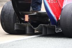 Scuderia Toro Rosso rear diffuser