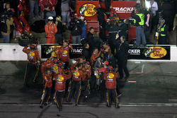 Earnhardt Ganassi Racing Chevrolet team members celebrate