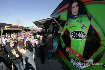 Danica Patrick merchandising hauler