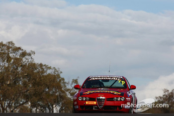 #76 Thomson Alfa, Alfa Romeo 159: Kean Booker, Rocco Rinaldo, David Stone
