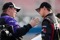 Denny Hamlin, Joe Gibbs Racing Toyota with crew chief Mike Ford
