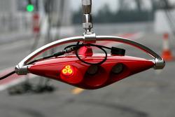 Scuderia Ferrari pitstop light system
