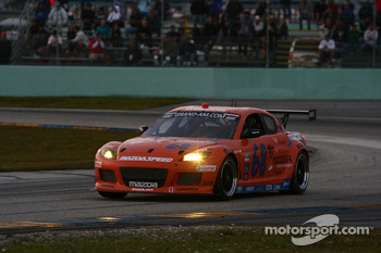 #68 SpeedSource/Newman Wachs Racing Mazda RX-8: Adam Christodoulou, John Edwards