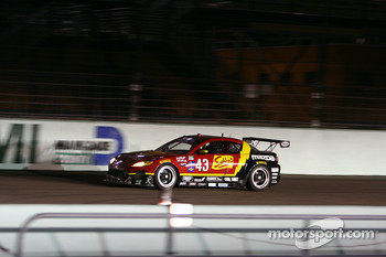 #43 Team Sahlen Mazda RX-8: Joe Nonnamaker, Wayne Nonnamaker
