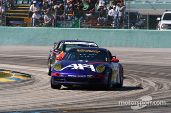 #41 TRG Porsche 997: Ted Ballou, Spencer Pumpelly