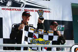 Winners Billy Johnson, Jack Roush Jr.
