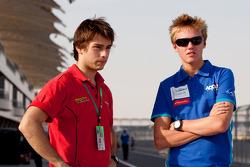Max Chilton and Edoardo Piscopo