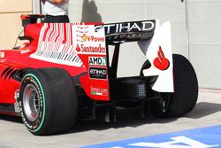 Felipe Massa, Scuderia Ferrari rear diffuser and wing