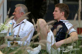 Willi Weber, Driver Manager, Nico Hulkenberg, Williams F1 Team