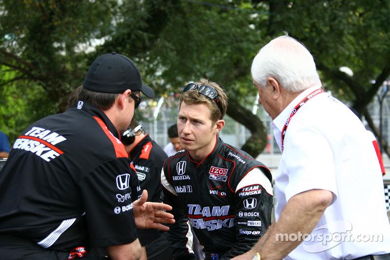 Ryan Briscoe, Team Penske and Roger Penske