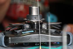 The steering wheel of Michael Schumacher, Mercedes GP