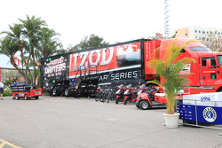IndyCar Series transporter