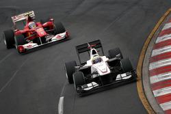 Pedro de la Rosa, BMW Sauber F1 Team, Fernando Alonso, Scuderia Ferrari