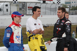 Alex Lloyd, Dale Coyne Racing, Graham Rahal, Sarah Fisher Racing and Will Power, Team Penske