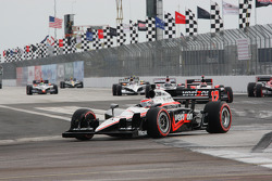 Pace lap: Will Power, Team Penske