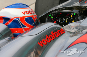 Jenson Button, McLaren Mercedes steering wheel