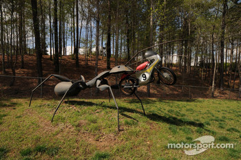 Some more of the interesting sculptures at Barber Motorsport Park