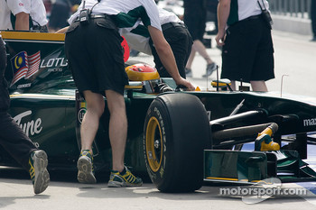 Fairuz Fauzy, Lotus-Cosworth