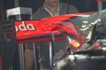 McLaren F-Duct system, rear wing