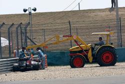 The car of Sebastien Buemi, Scuderia Toro Rosso