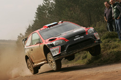 Federico Villagra and Jorge Perez Companc, Ford Focus RS WRC08, Munchi's Ford World Rally Team