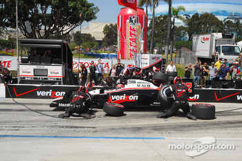 Will Power, Team Penske makes a pitstop