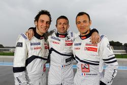 Franck Montagny, Nicolas Minassian and Stéphane Sarrazin