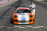 Nico Hulkenberg tests the Porsche 911 GT3 R Hybrid