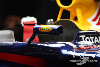 Wing mirror on the Red Bull Racing