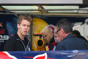 Sebastian Vettel, Red Bull Racing and his father Norbert