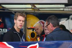 Sebastian Vettel, Red Bull Racing and his father Norbert