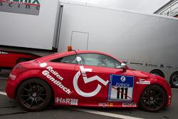 Audi TT race taxi