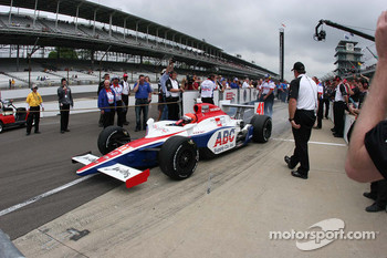 A.J. Foyt IV, A.J. Foyt Enterprises is the first to qualify