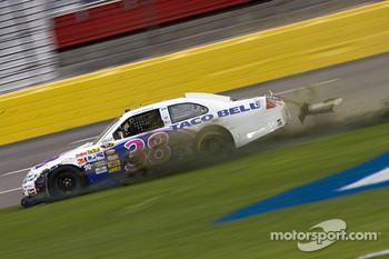 Trouble for David Gilliland
