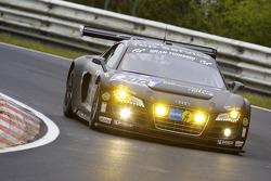 #100 Team Abt Sportsline Audi R8 LMS: Mattias Ekström, Oliver Jarvis, Timo Scheider, Marco Werner