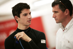 Alexander Rossi with his Dad Pieter