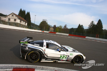 #72 Luc Alphand Aventures Corvette C6.R: Julien Jousse, Stephan Gregoire, David Hart