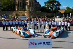 #009 Aston Martin Racing Lola Aston Martin: Darren Turner, Juan Barazi, Sam Hancock, #007 Aston Martin Racing Lola Aston Martin: Harold Primat, Stefan Mücke, Adrian Fernandez